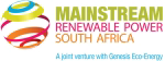 Mainstream Renewable Power, sponsor of Africa Energy Awards 2012
