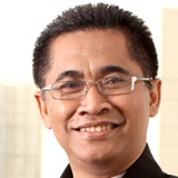 Mr Subhan Novianda at The CIO Show Asia 2012