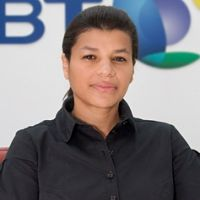 Ms Beatriz Butsana-Sita speaking at Telecom World Congress 2012