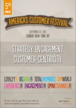 America's Customer Festival 2015 brochure cover