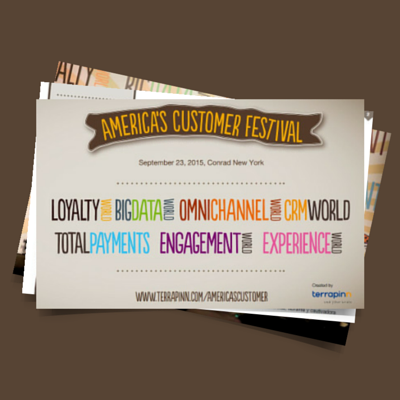 America's Customer Festival is where retailers and their solution providers meet to network, learn from each other, and discuss the latest developments in customer relationship management