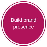build brand presence