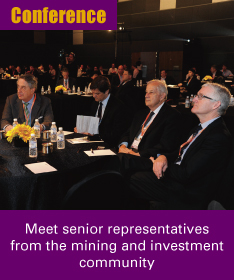 Meet senior representatives from the mining & investment community