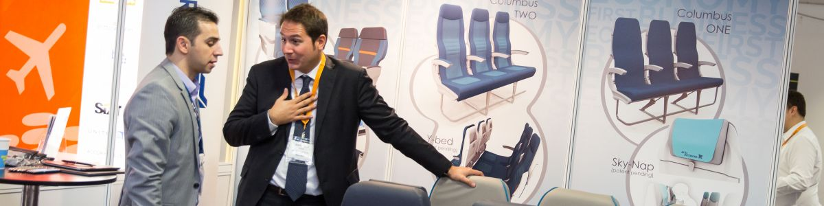 aviation interiors show 2016 in London exhibition photo