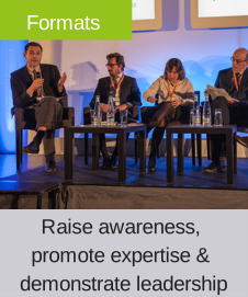 Innovative formats at the World Biosimilar Congress 2014