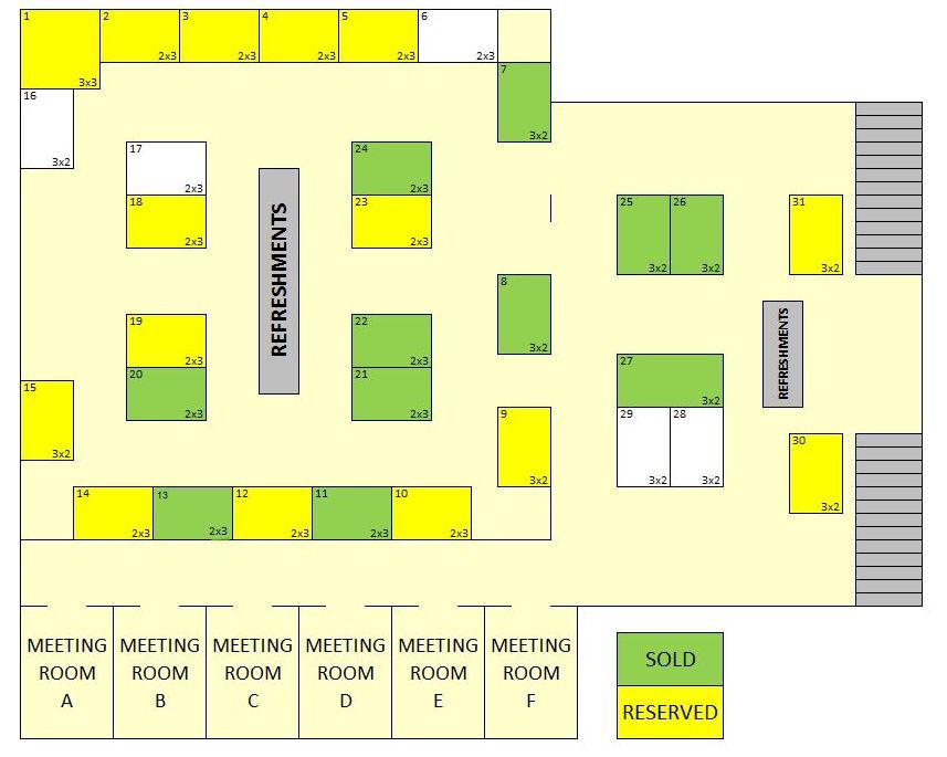 Cell Culture World Congress 2017 Floor Plan