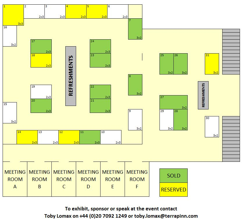 Cell Culture World Congress 2017 Floor Plan