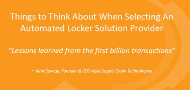 Ken Savage of Apex Supply Chain Technologies' Click & Collect Show USA 2015 presentation