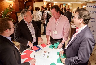 Speed networking at Connected Britain