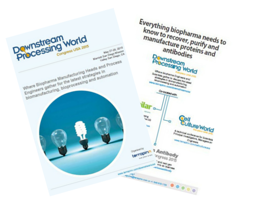 Downstream Processing World 2015 Sponsorship prospectus
