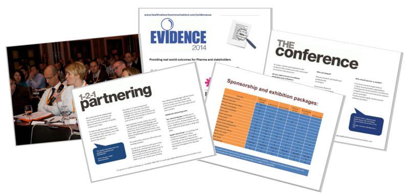 Evidence USA 2015 sponsorship brochure