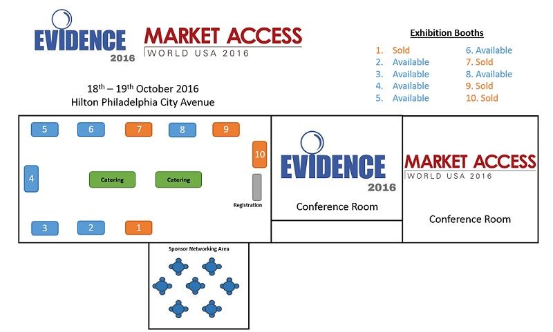 Evidence USA 2015 floor plan