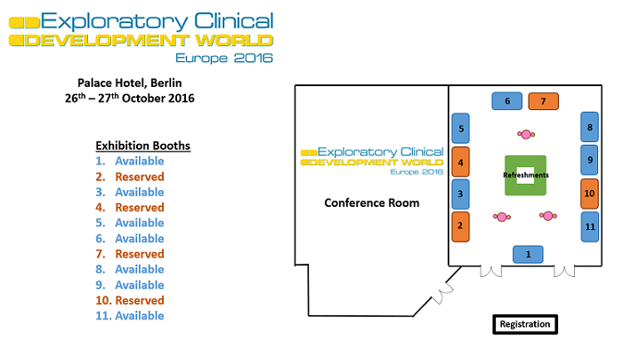 Exploratory Clinical Development floorplan