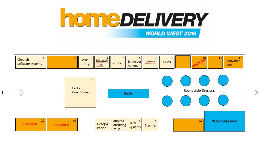 Home Delivery World West floorplan