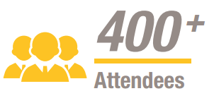 400 attendees at Metrorail usa 2017