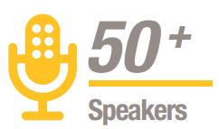50+ speakers at Metrorail USA