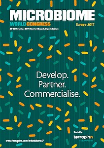 Microbiome World Congress Europe Prospectus Cover