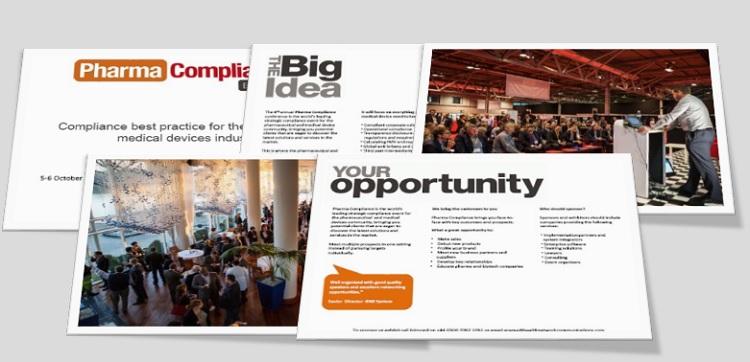 Pharma Compliance 2016 sponsorship brochure