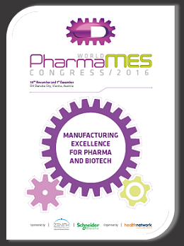 Pharma MES Congress brochure