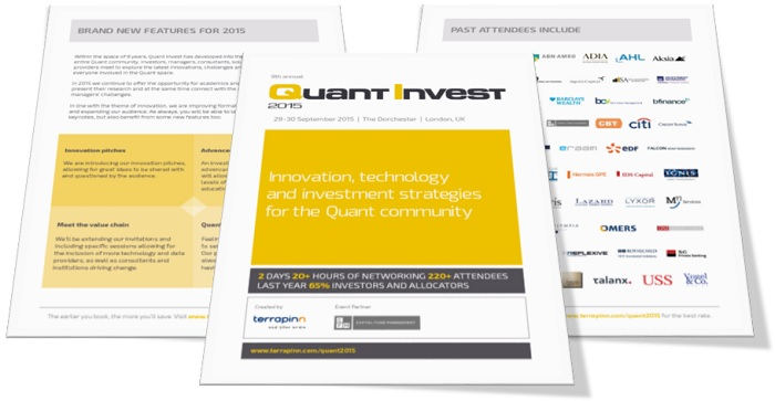Quant Invest 2015 brochure
