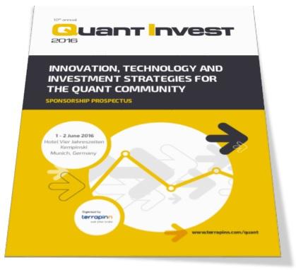 Quant Invest sponsorship prospectus