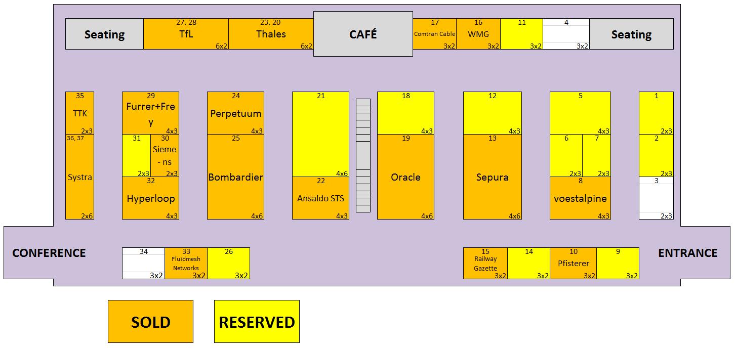 MetroRail 2017 floor plan