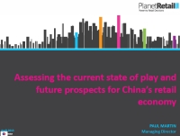 Download: Assessing the current state of play and future prospects for China's retail economy