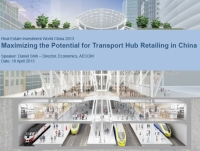 Presentation: Maximising the potential for transport hub retailing in China