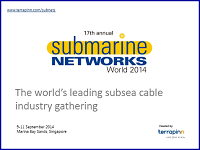 Download Submarine Networks World 2014 sponsorship brochure