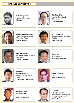 Latest list of speakers at Total Payments Asia 2014