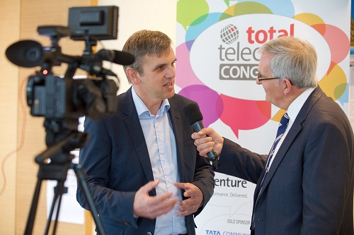 Interview at Total Telecom Congress 2016