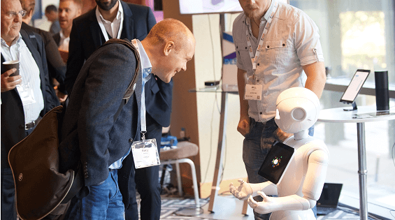 Robot at Total Telecom Congress 2016