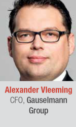 Alexander Vleeming at World Gaming Executive Summit for gaming and lottery executives in Barcelona