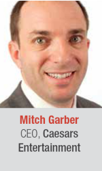 Mitch Garber at World Gaming Executive Summit for gaming and lottery executives in Barcelona