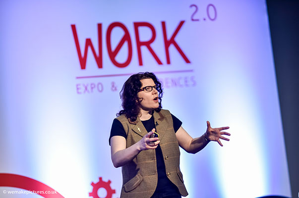 Conference sessions at Work 2.0
