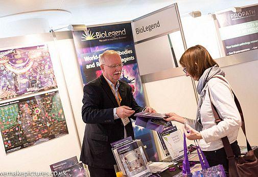 sponsor showing delegate materials at the world biosimilar congress