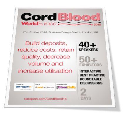 World Cord Blood Congress Europe 2016