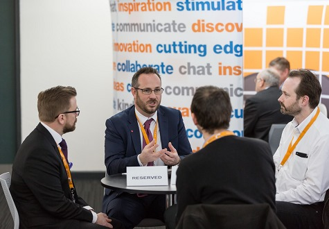 Networking at The Cyber Security Show 2016