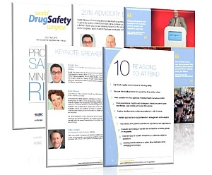 Drug Safety Americas 2016 brochure