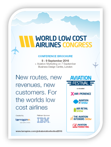 World Low Cost airlines Congress 2016 - Conference Brochure