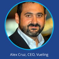 Alex Cruz Vueling at World Low Cost Airlines Congress
