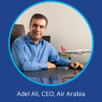 Adel Ali Air Arabia at World Low Cost Airlines Congress