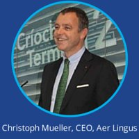 Christoph Mueller Aer Lingus at World Low Cost Airlines Congress