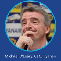 Michael O'Leary Ryanair at World Low Cost Airlines Congress