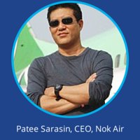 Patee Sarasin Nok Air at World Low Cost Airlines Congress
