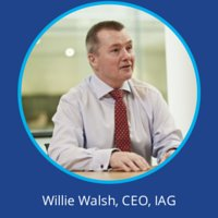 Willie Walsh IAG at World Low Cost Airlines Congress