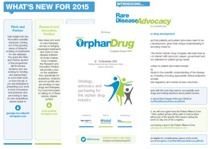 World Orphan Drug Congress 2015