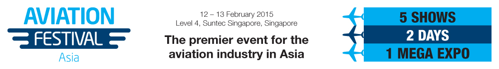 The premier event for the aviation industry in Asia - Aviation Festival Asia