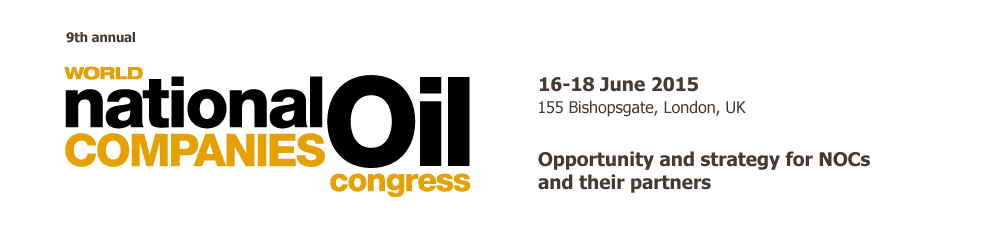 Opportunity and strategy for NOCs and their partners - World National Oil Companies Congress 2015