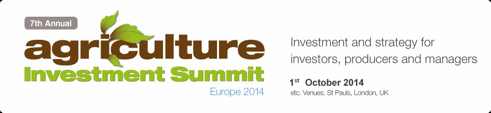 Investment and strategy for producers and investors - Agriculture Investment Summit 2014